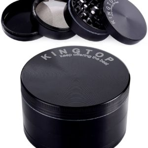 Kingtop Large 4-Piece Grinder