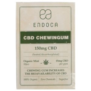 Endoca CBD chewinggum (10 pieces) – Mint