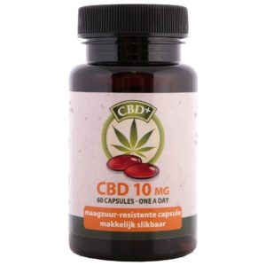 Jacob Hooy CBD Capsules (60 pcs – 10mg)