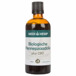 Medihemp Organic Hemp Seed Oil Plus CBD – 240mg (100ml)