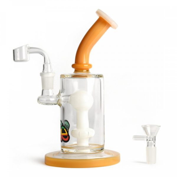 """iRie 9"""" Tall Concentrate Rig with UFO Perc and Pull Out"""